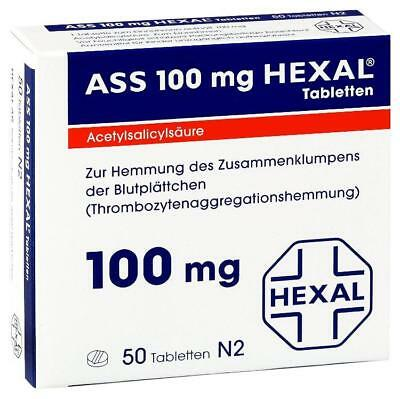 ASS 100 Hexal Tabletten 50St PZN: 7402204