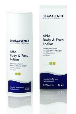 DERMASENCE AHA Body and Face Lotion 200ml PZN: 0976913