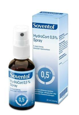 Soventol Hydrocort 0,5% Spray 30ml PZN: 10012814