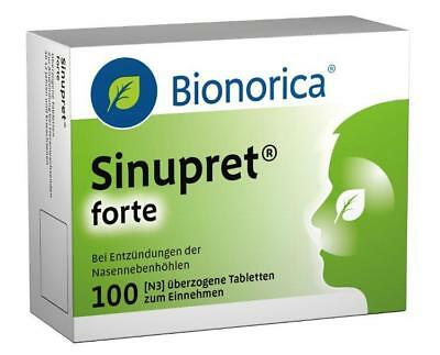 Sinupret forte Dragees Bionorica 100St PZN: 8625596