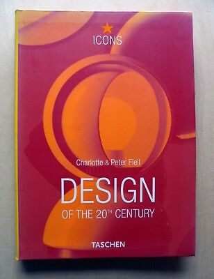 DESIGN of the 20th CENTURY / Product Furniture Graphic History Icons Eames Bayer