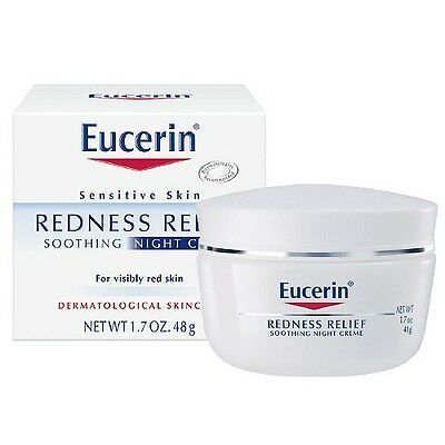 Eucerin Redness Relief Soothing Night Creme 1.7 oz (48 g)