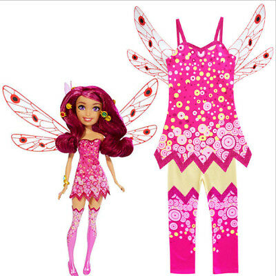 New Mia and Me Magic Dress Kids Girls Fancy Dress Outfits Child Cosplay Costume