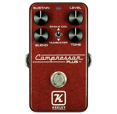 Keeley Electronics Compressor Plus LTD Royal Red Japan Limited Effects Pedal