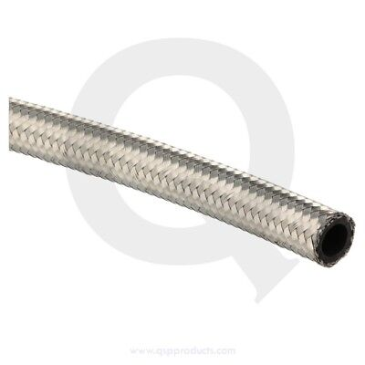 Fuel / Oil hose D10 - SS braided (I.D. 14,2mm)