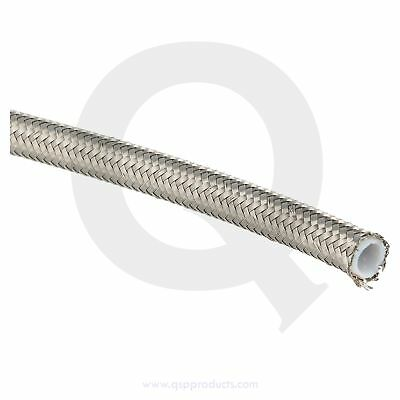PTFE fuel / oil hose  D10 - SS braided
