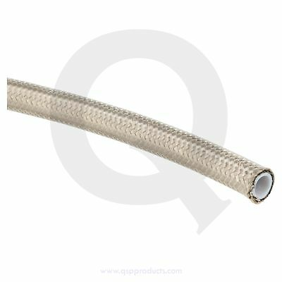 PTFE fuel / oil hose  D08 - SS braided + coating