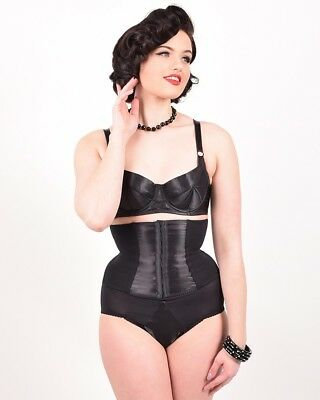 What Katie Did - glamour nouveau Waspie black dita pin up 50s vlv rockabilly