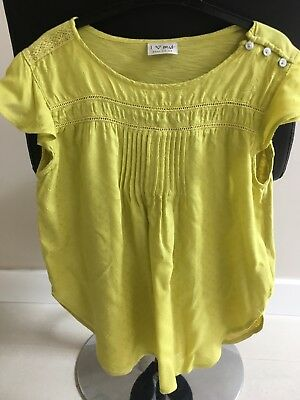 Next girls pretty summer top t-shirt Age 12 years Excellent condition