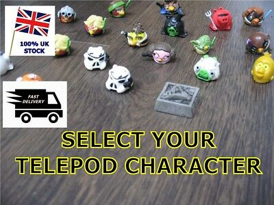 ANGRY BIRD STAR WARS TELEPODS - Select your Character - Series 1 + 2 + 3
