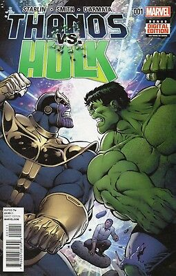 Thanos VS The Hulk 1-4 VFN+
