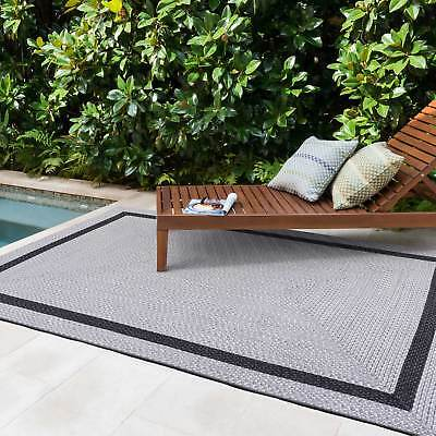 Silver Grey Hall Runners Super Soft Reversible Indoor/outdoor Carpet 70x250cm