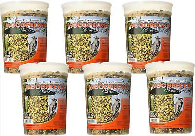 6 Pack, Pine Tree Farms Woodpecker Seed Log 5 LB 8002 Made in USA