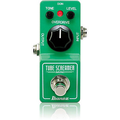 IBANEZ Tube Screamer Mini TS MINI Distortion NEW Guitar Effect Pedal w/FREE PICK