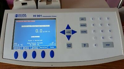 Hanna HI901C automatic titrator for salt NaCl sodium chloride - Mettler Toledo