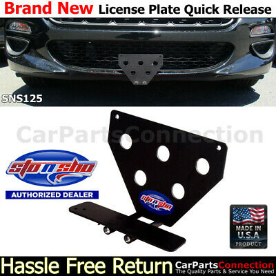 STO N SHO For 17-18 Fiat 124 Spider Classica Lusso License Plate Bracket SNS125