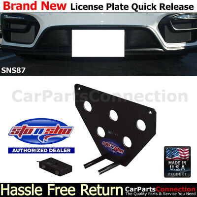 STO N SHO | For 14-16 Porsche Boxster GTS/Cayman GTS License Plate Bracket SNS87