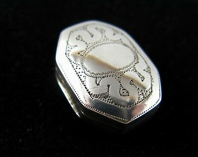 Antique silver vinaigrette - Hallmarked - Joseph Willmore - Birmingham, 1814