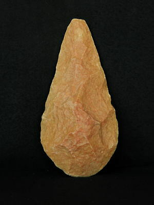 ANCIENT Quartzite HAND AXE - Acheulean Civilization - 18 cm LONG - Sahara