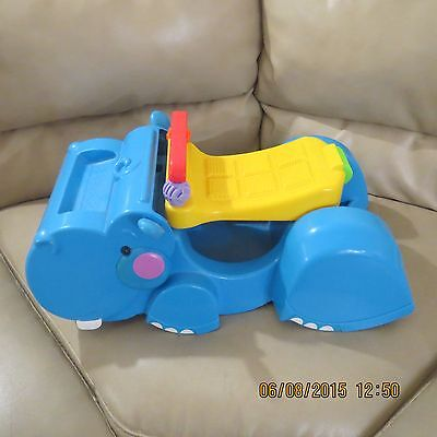 Fisher Price Hippo Sweeper Ride On Walker Behind Toy  Gobble & Go
