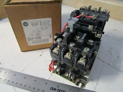 Allen Bradley 509-AOB Full Voltage Starter, 460/480V, 3 phase