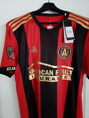 huge selection of c9a43 52625 NEW ATLANTA UNITED home jersey Adidas replica Martinez #7 Soccer Jersey  Medium