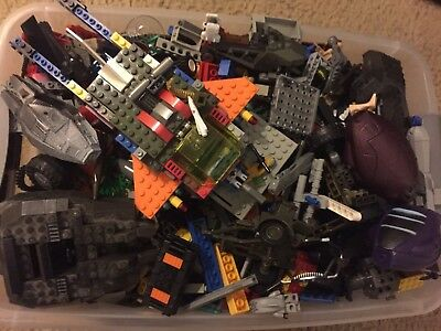 8 lbs Pounds Lego Parts Pieces from HUGE BULK LOT limited time offer