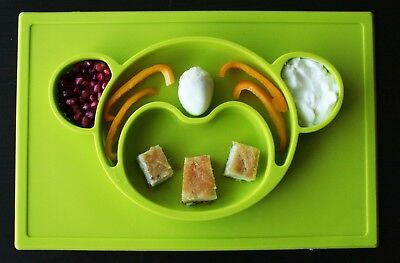 Kids Silicone Large Placemat - Monkey Face