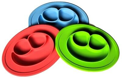 Transportable Silicone Kids Placemat (Blue)