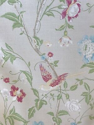 🌹Laura Ashley Summer Palace Fabric - Linen - 1m (More Avail)