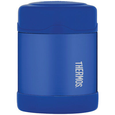 Thermos FUNtainer Stainless Steel, Vacuum Insulated Food Jar - Blue - 10 oz.