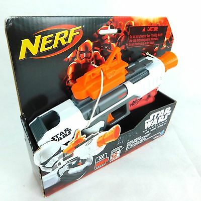 Nerf Star Wars First Order Stormtrooper Blaster Disney Hasbro Force Awakens VII