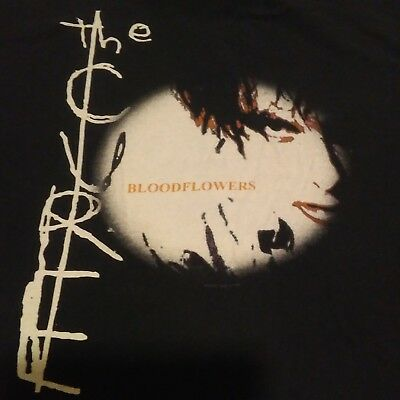 Vintage The Cure Bloodflowers Fitted Tee No Size Tag