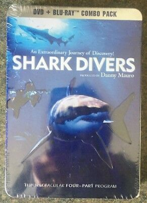 ** Shark Divers, Blu-ray + DVD, brand new, factory sealed in tin case! Four-Part
