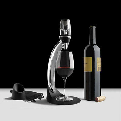 Magic Decanter Red Wine Aerator Essential Quick Aerating Pouch Filter UK Post