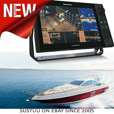 Raymarine-E70481│Axiom 9 Pro-S│Hybrid Touch│Marine CHIRP Conical Sonar for CPT-S