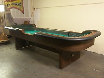 "Vintage Craps Table Labled ""Trump's Castle Casino Resort"""