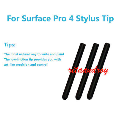 3 Pcs Tips Refill Replacement For Microsoft Surface Pro 4 5 Stylus Touch Pen