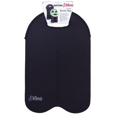 D.Line go Vino Double Bottle Bag- black