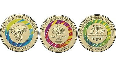 Australian Two Dollar $2 coin - 2018 XXI Commonwealth Games - uncirculated SET