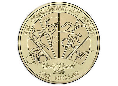 Australian One Dollar $1 coin - 2018 - XXI Commonwealth Games - RAM Mint UNC #3