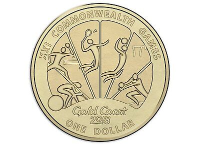 Australian One Dollar $1 coin - 2018 - XXI Commonwealth Games - RAM Mint UNC #4