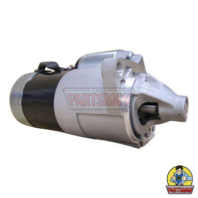 New Starter Motor Suzuki Sierra SJ410/13 7/81-3/96 1.3L Pet Check 9 Tooth Pinion