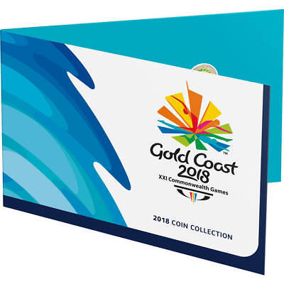 Australian - 2018 Gold Coast XXI Commonwealth Games Folder - No Coins Mint
