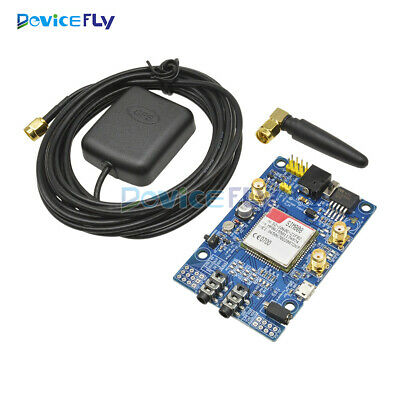 SIM808 Module GSM GPRS GPS Development Board SMA With GPS Antenna for Arduino