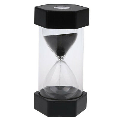 Hourglass Plastic Sand Timer 1/3/5/10/15/20/30/45/60 Minute Teaching Game Timing