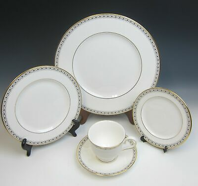 Lenox China CELTIC BRAID (seconds mark) 5pc. Place Setting(s) EXCELLENT