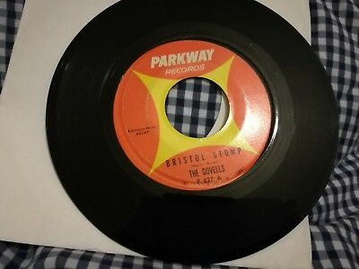 The Dovells - Bristol Stomp - 1961 Parkway Label - Usa Pressing