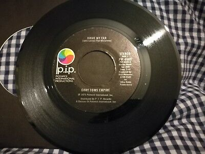 Gary Toms Empire - Drive My Car - Funk / Disco Beatles Cover - Usa Press 1975