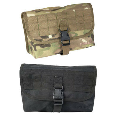 Viper Large Molle Utility Pouch Black Mtp Multicam Army Military